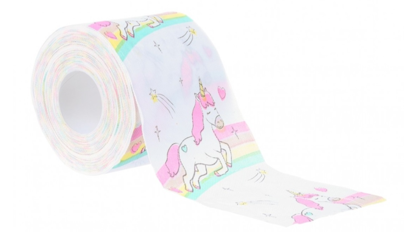​Unicorn Toilet Paper Is On Sale In Peacocks And It's Magical