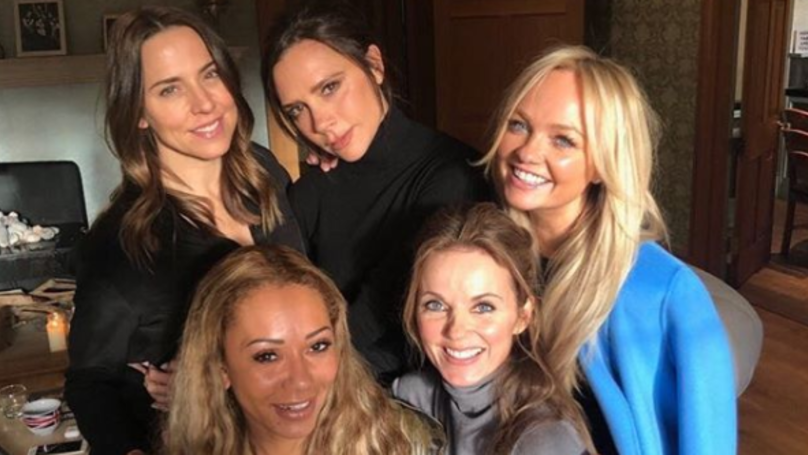 ​What The Suspicious White Line In The Spice Girls Reunion Pic Actually Was