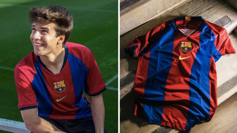 Nike To Launch Limited Edition Remake Of Barcelona's Stunning 1998/99 Home Shirt