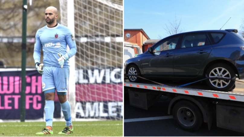 Non League Keeper Stops Mid-Game After Tannoy Announces His Car Being Towed