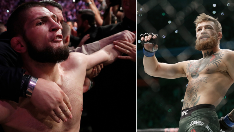 Khabib Nurmagomedov's Three Chilling Words For Conor McGregor During His Beating