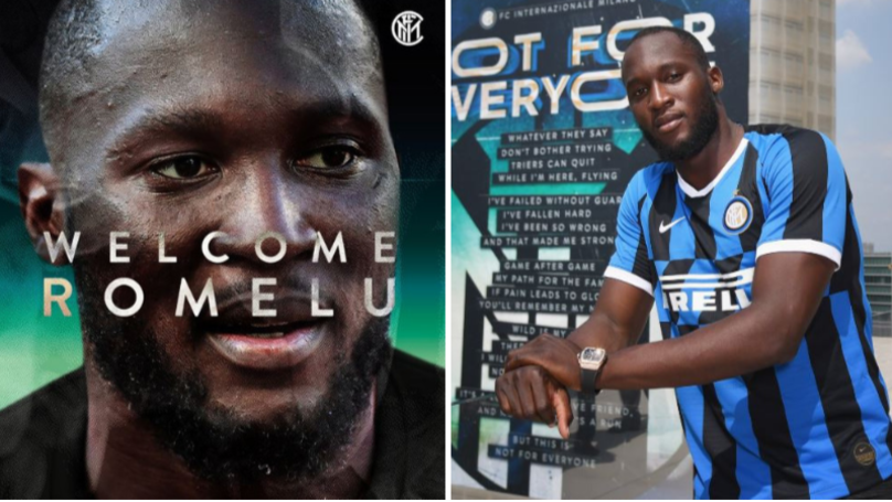Romelu Lukaku Completes Club Record £74 Million Transfer To Inter Milan From Manchester United