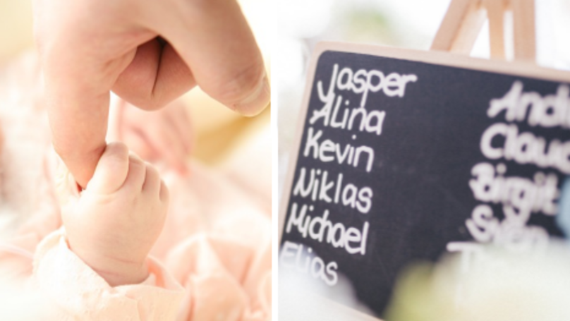 Mum Shocked At Friend Who Names Her Baby After The Alphabet