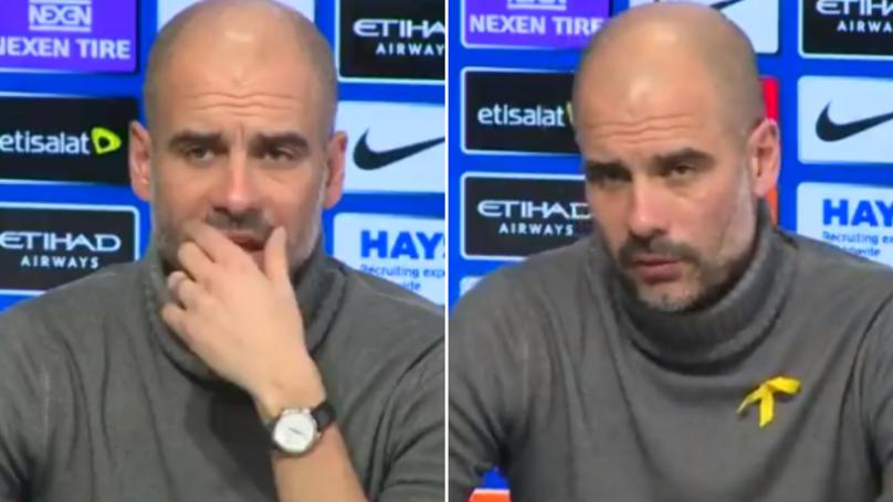 Pep Guardiola Congratulates Manchester United And Jose Mourinho On Signing Alexis Sanchez