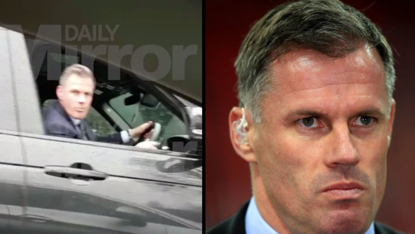 Jamie Carragher Suspended Until The End Of The Season Following Spitting Incident