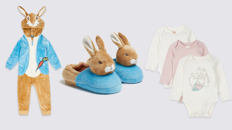 M&S Launches Adorable Peter Rabbit Kidswear Collection