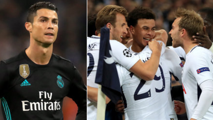 Spurs Stun Defending Champions League Holders Real Madrid