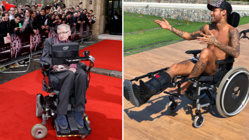 No One Is Impressed By Neymar's Stephen Hawking 'Tribute'