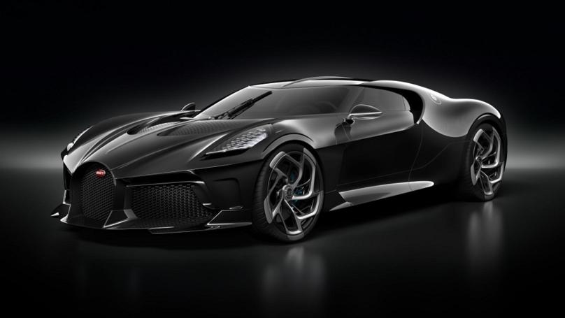 Bugatti Creates One-Off Hypercar Worth £12m