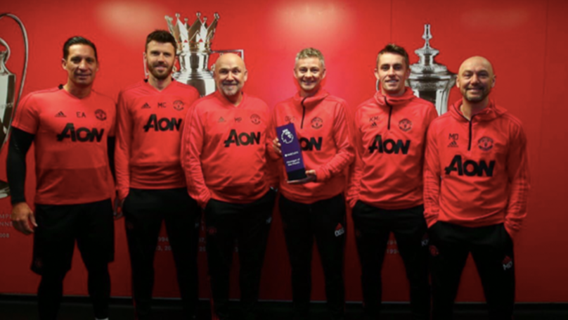 Ole Gunnar Solskjaer Becomes First Man Utd Manager To Win Manager Of The Month Since Sir Alex