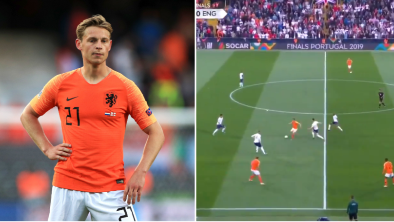 Frenkie de Jong's Individual Highlights Against England Prove He's The Best Midfielder In The World
