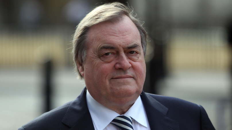 John Prescott Rushed To Hospital After Suffering A Stroke