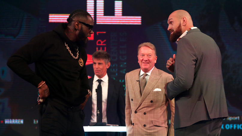 Wilder vs Fury: Tyson Fury Says He'll Donate His Entire Fee To The Homeless