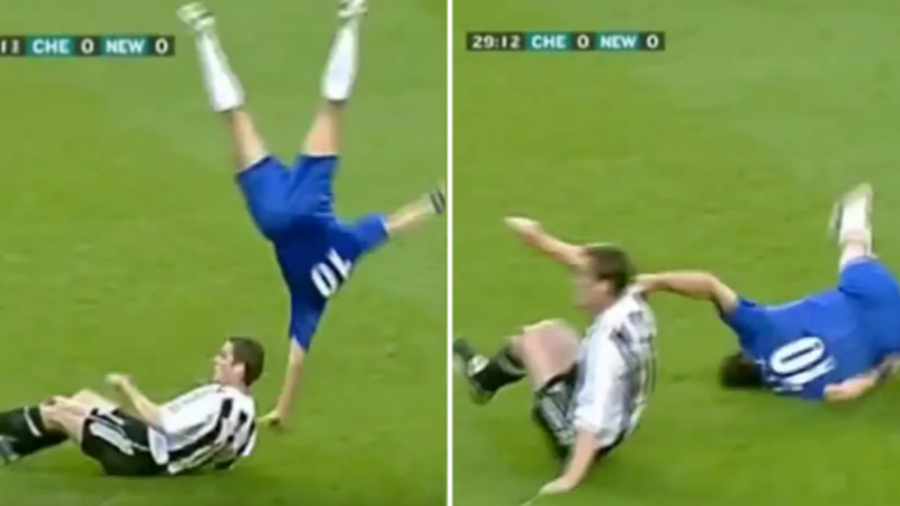 Scott Parker Is Responsible For One Of The Greatest Tackles In Premier League History