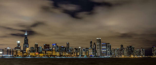 Chicago skyline. Credit: Jeff Turner (Creative Commons)