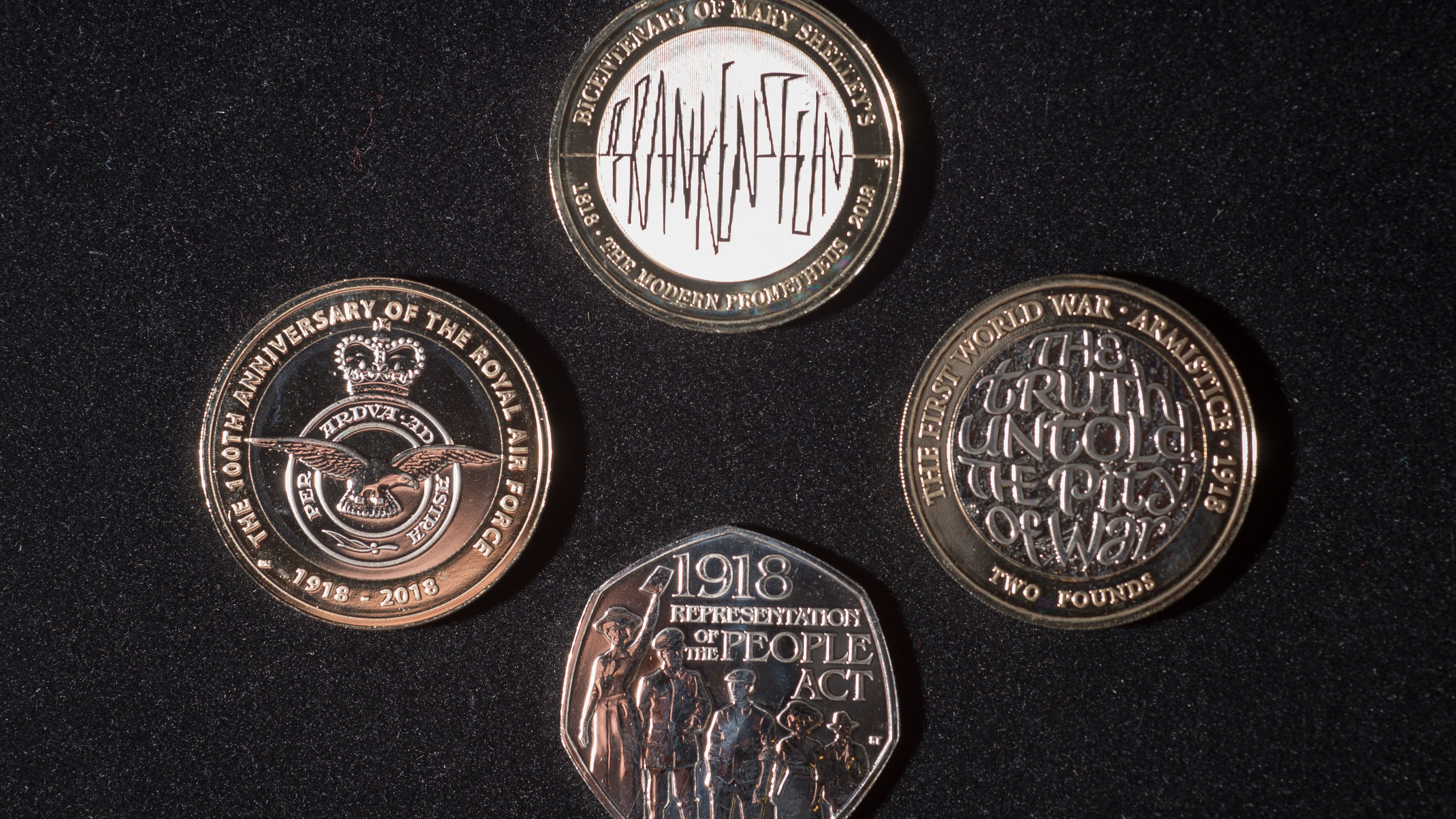 The Royal Mint Is Releasing Four New 'Limited Edition' Coins