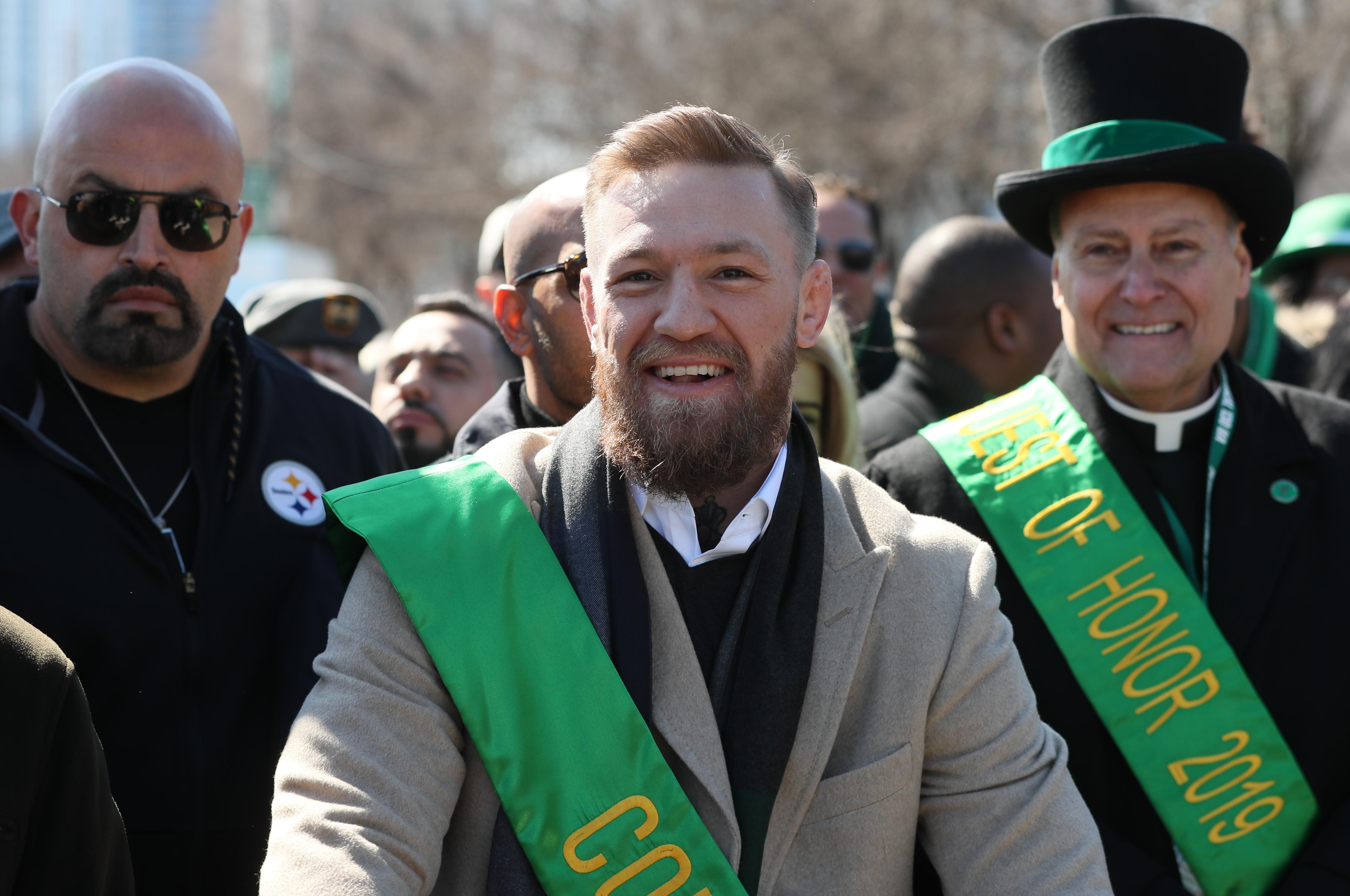 Conor McGregor hasn't fought since his defeat by Khabib Nurmagomedov last October