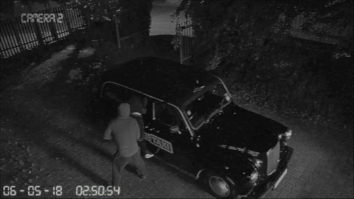 ​The Fake Taxi Car Has Been Stolen