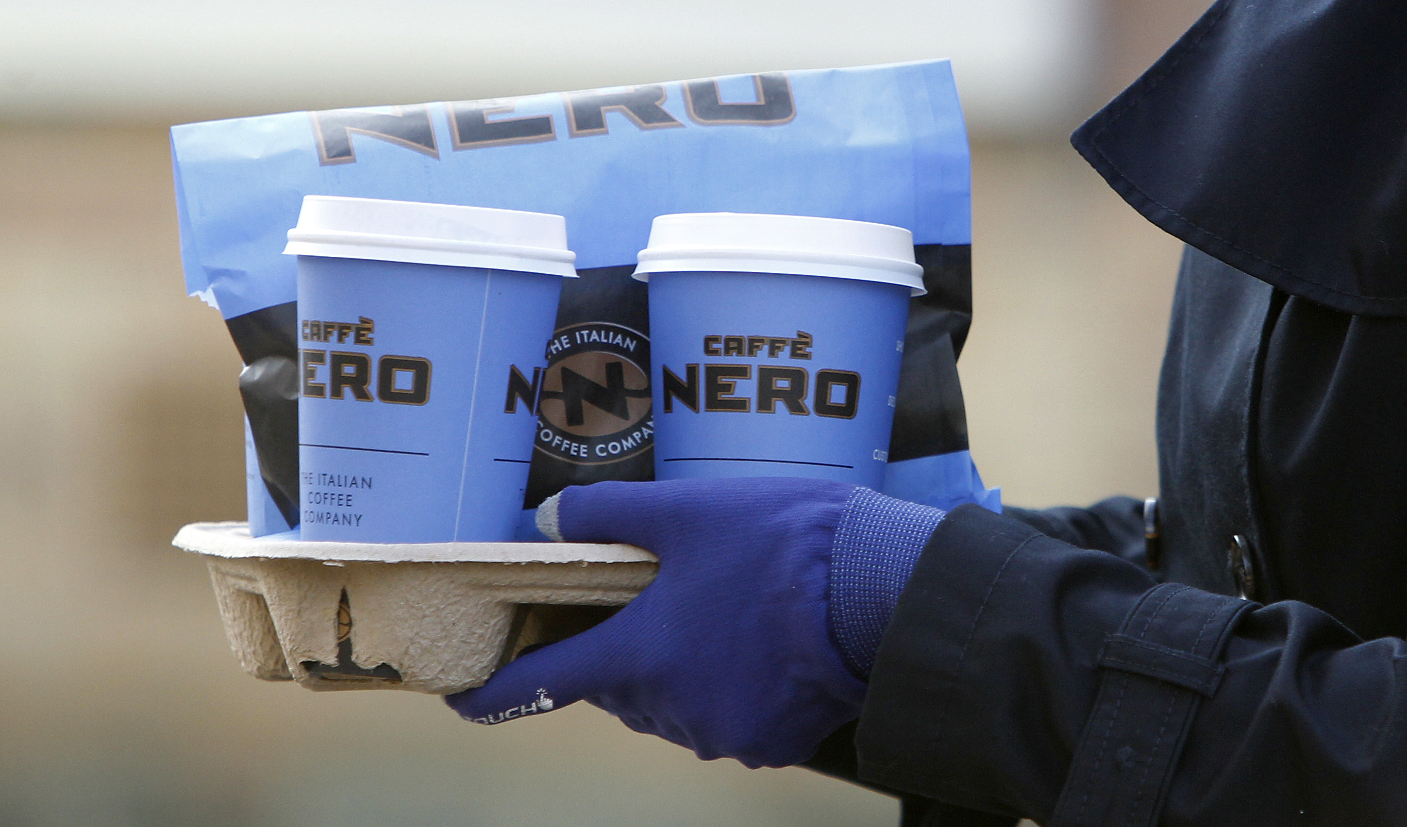 Caffe Nero's festive drink packs a sugary punch. Credit: PA