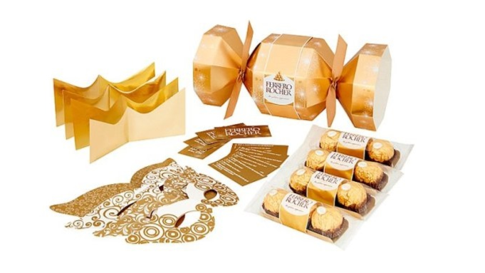 You Can Now Get Giant Ferrero Rocher Christmas Crackers