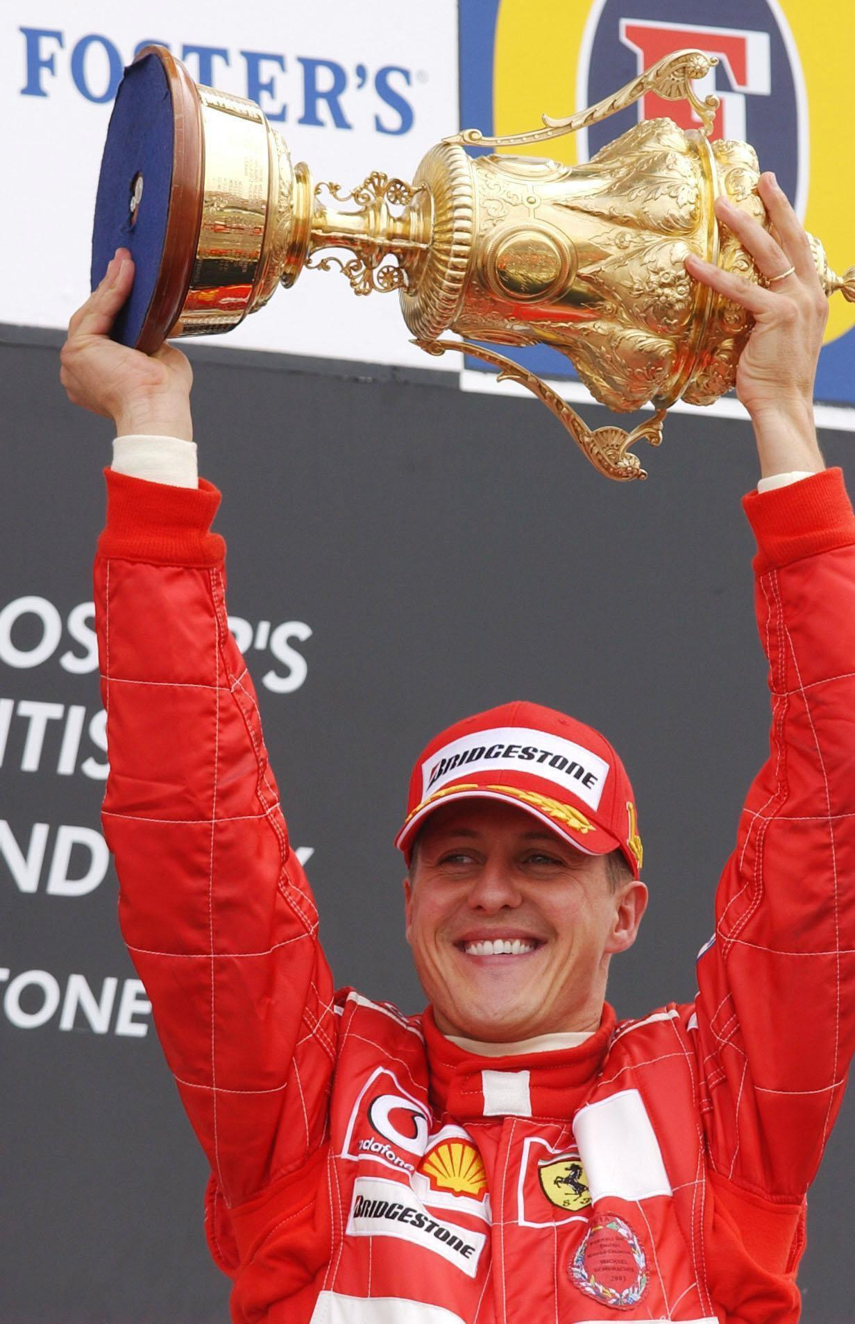 The German claimed seven World Championship titles during his illustrious career. Credit: PA