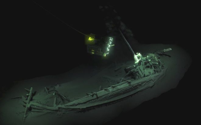 Scientists discover what they say is oldest intact shipwreck