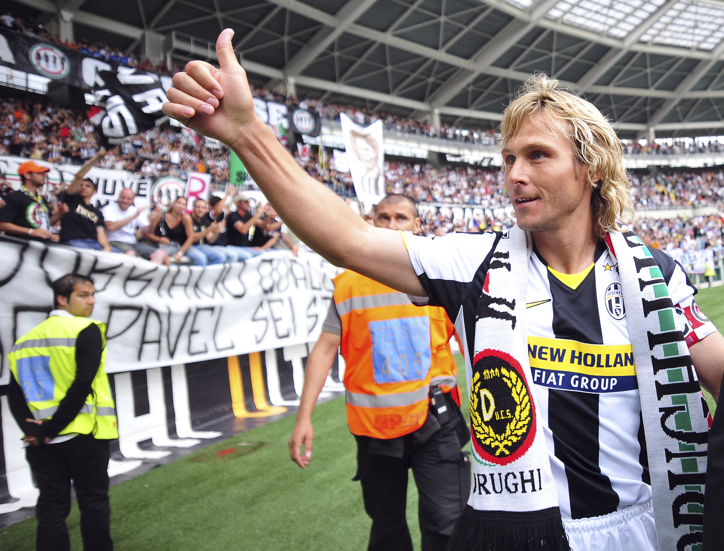 Juventus great Nedved comes out of retirement