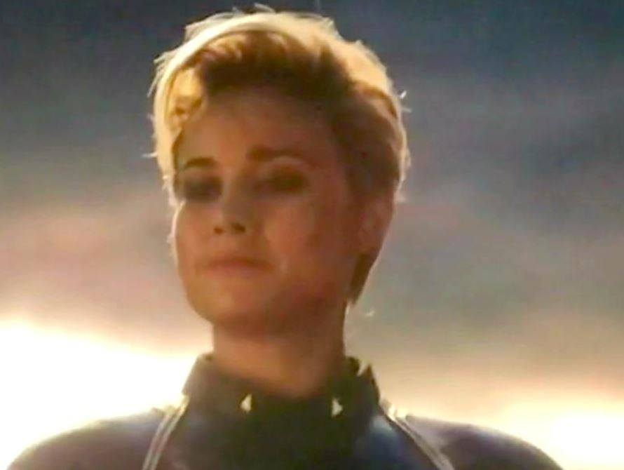 Avengers Endgame Fans Are Shocked By Captain Marvel S New Look Ladbible