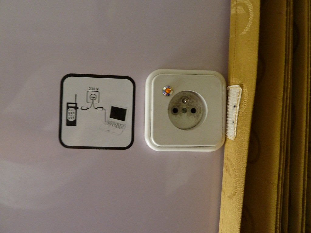 File photo of a power socket in India. Credit: Creative Commons