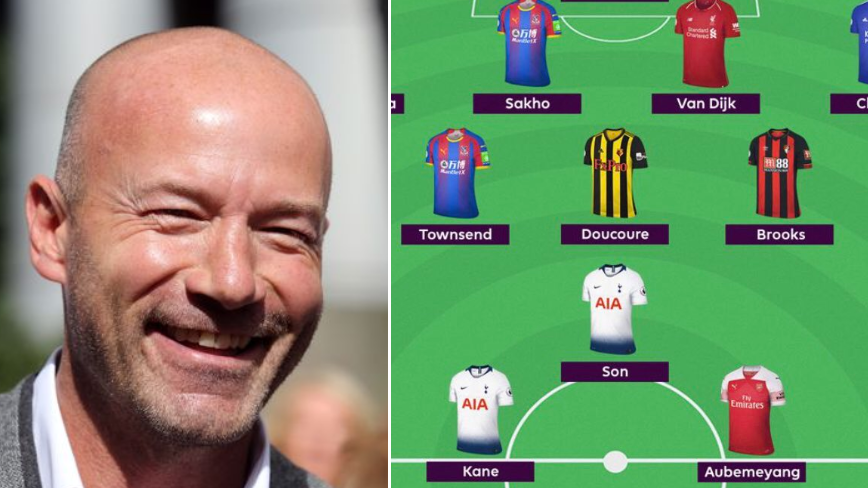 Alan Shearer Trolls Manchester United Fan Who Questioned His 'Team Of The Week'