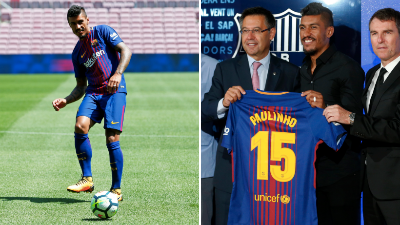 The Exact Amount Of Paulinho Shirts Barcelona Sold On The Day Of His  Arrival Is Crazy 94461c83e