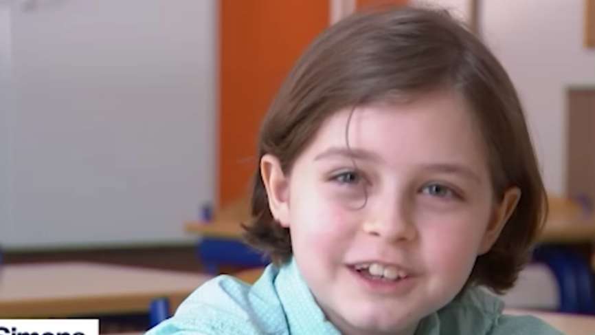 Eight-Year-Old Child Genius Is Off To University