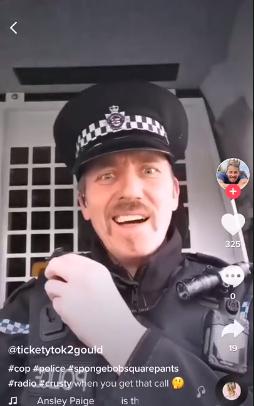 Police Officer Under Examination For TikTok Videos While 'On Crime