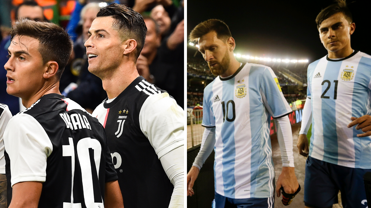 Paulo Dybala Discusses Playing With Both Cristiano Ronaldo And Lionel Messi Sportbible