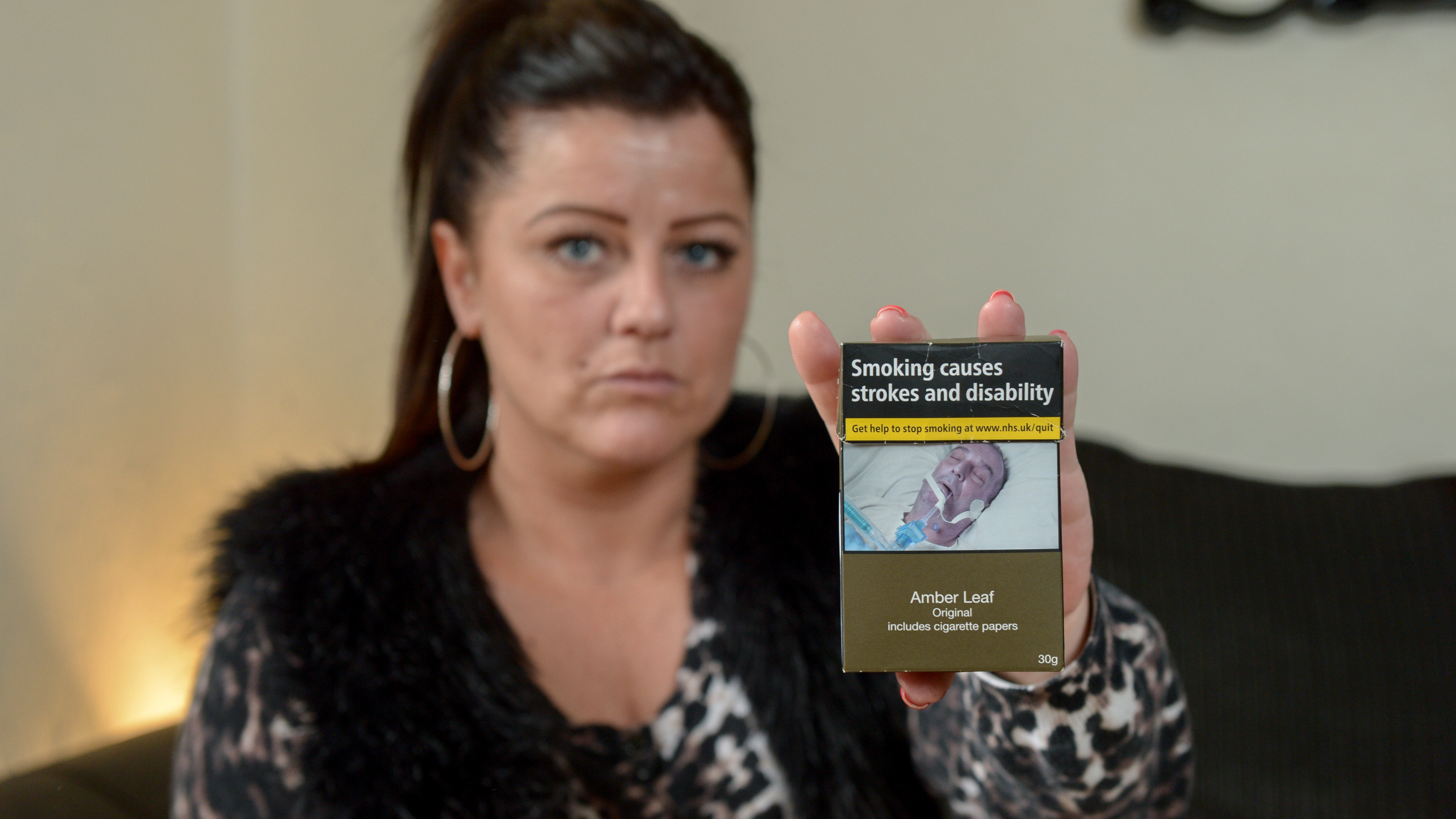 Daughter Horrified To Find Pictures Of Dead Dad On Cigarette Packets