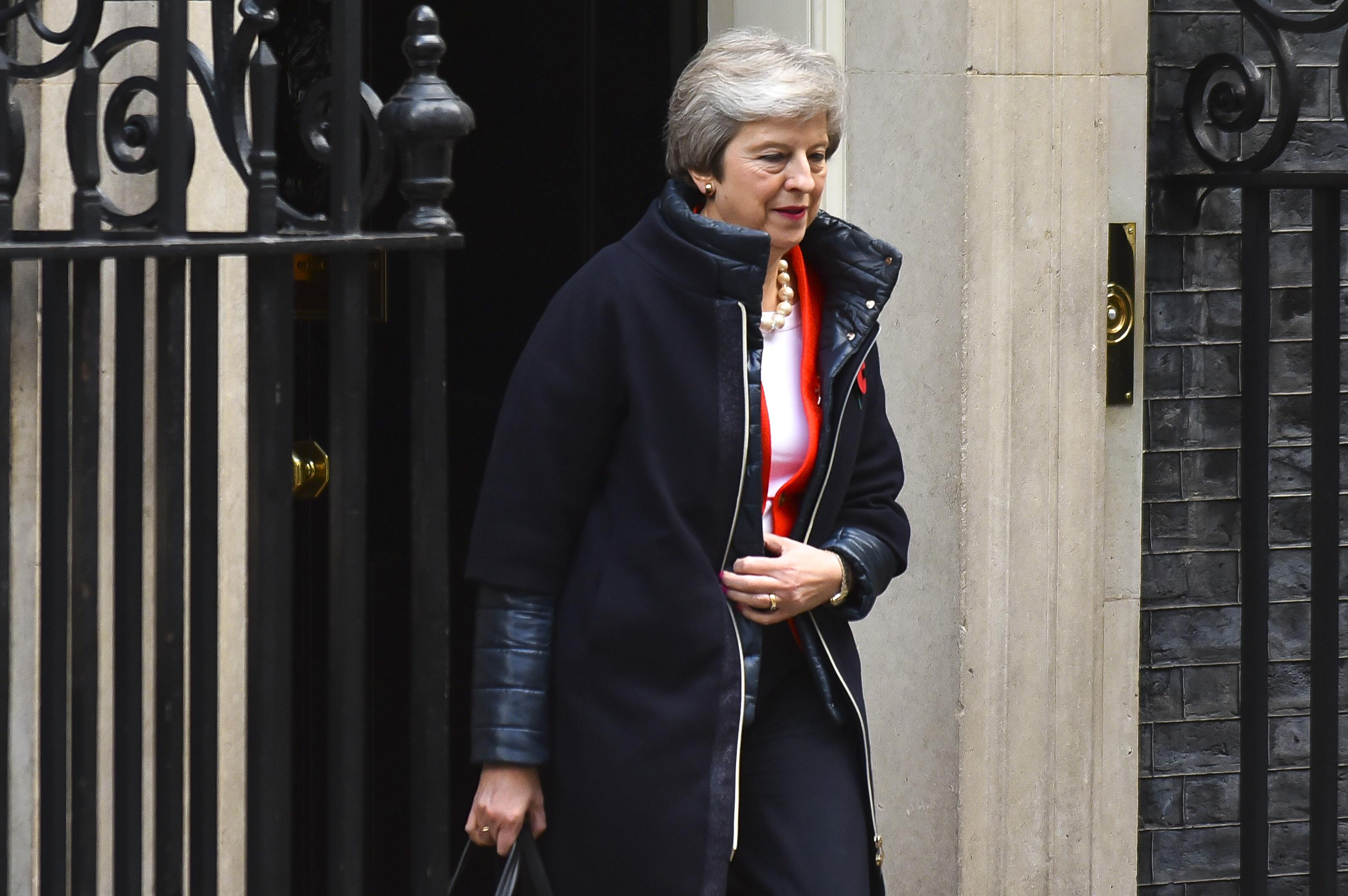 UK Prime Minister Theresa May. Credit: PA