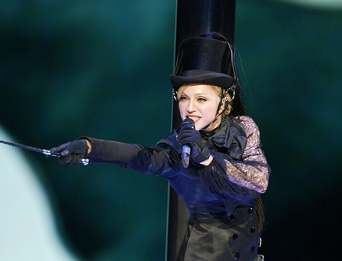 Madonna. Credit: PA