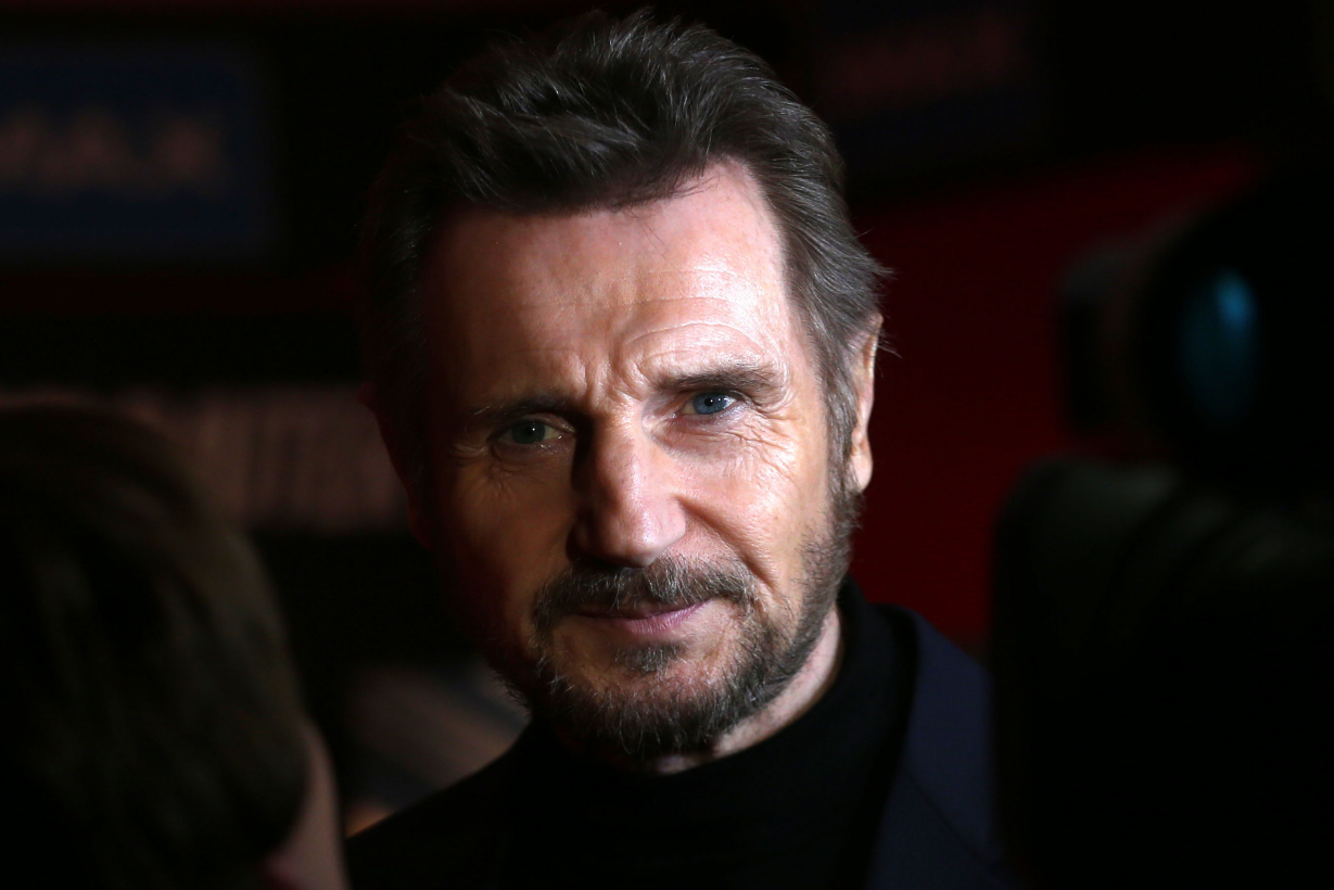 Liam Neeson. Credit: PA