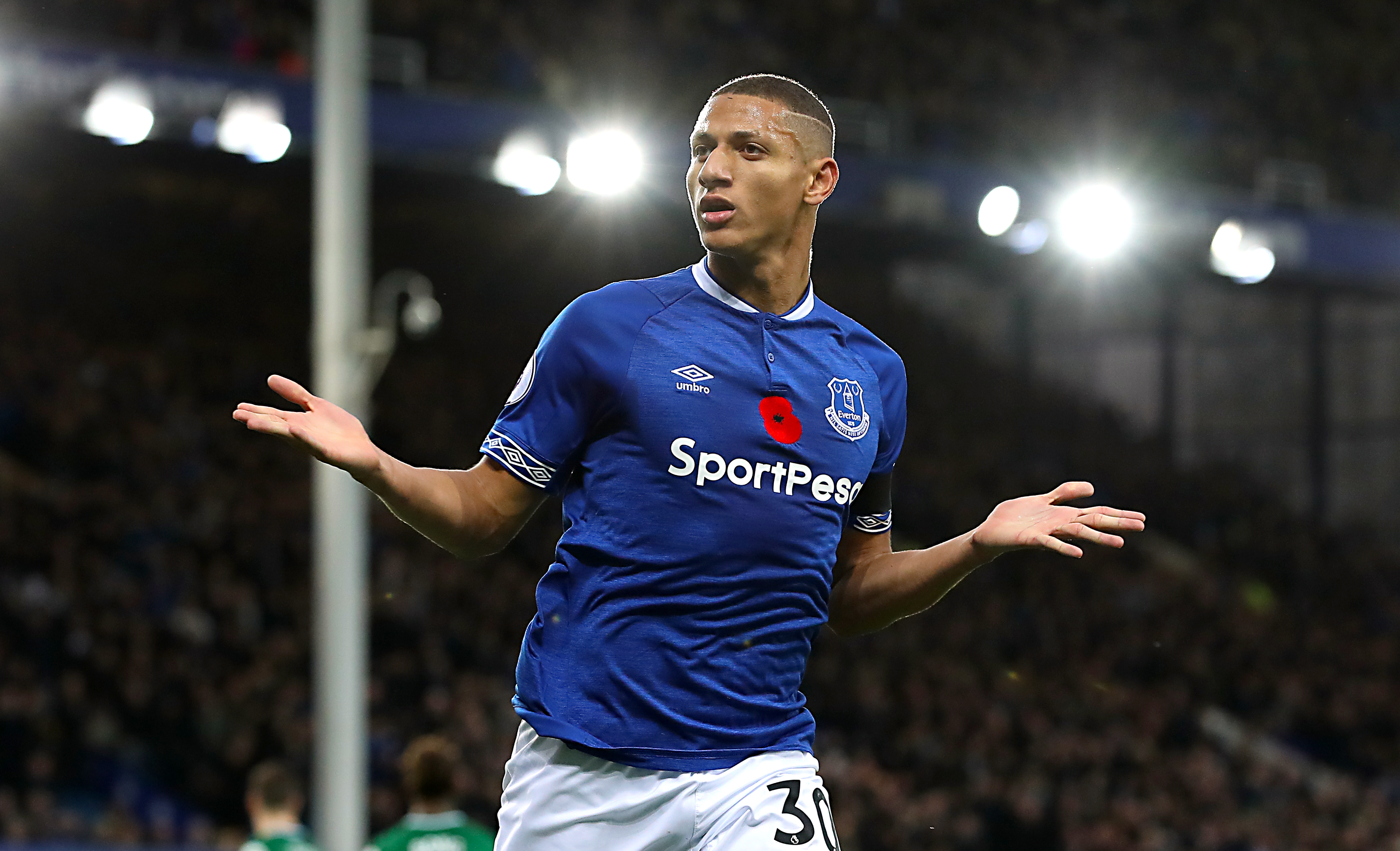 Richarlison's early season form was electric. Image: PA Images