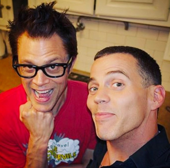 Steve-O and Johnny Knoxville