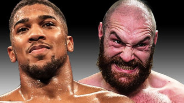 Tyson Fury Calls Anthony Joshua A Chicken After Controversial Draw