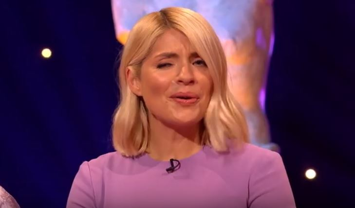 Holly Willoughby was adamant, at first, that is. Credit: ITV2