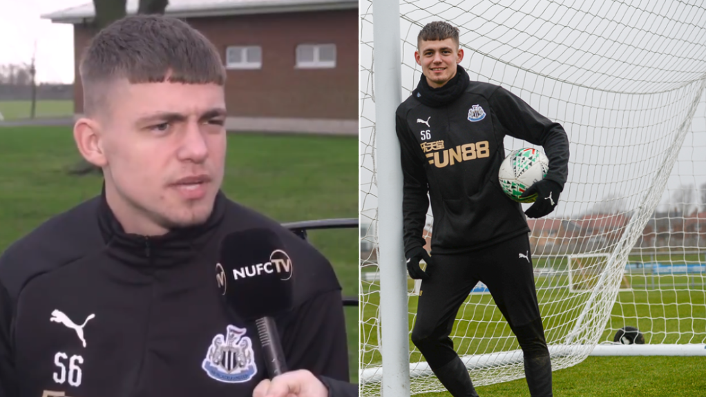 Newcastle's Danish Striker Elias Sørensen Already Has A Really, Really Strong Geordie Accent