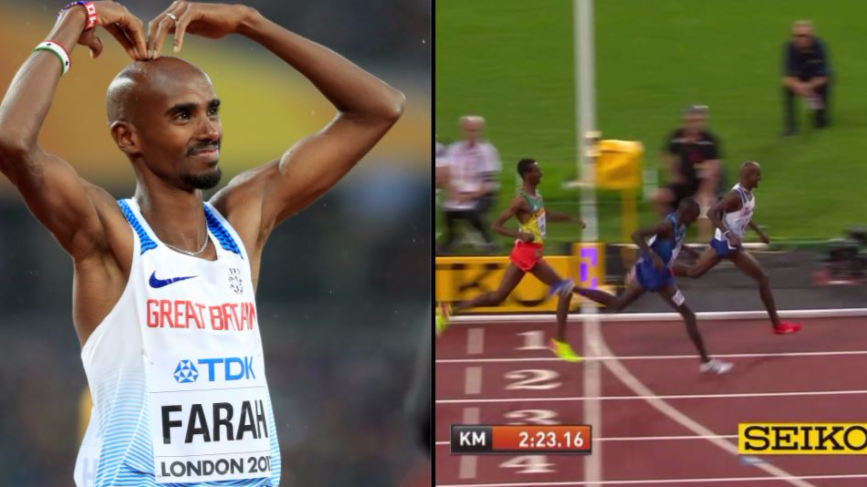 Sir Mo Farah Bids Farewell To The Track After Running His Last Race