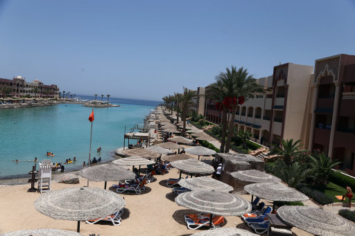 You'll probably be wanting plenty of beers to quench your thirst in the heat of Hurghada. Credit: PA