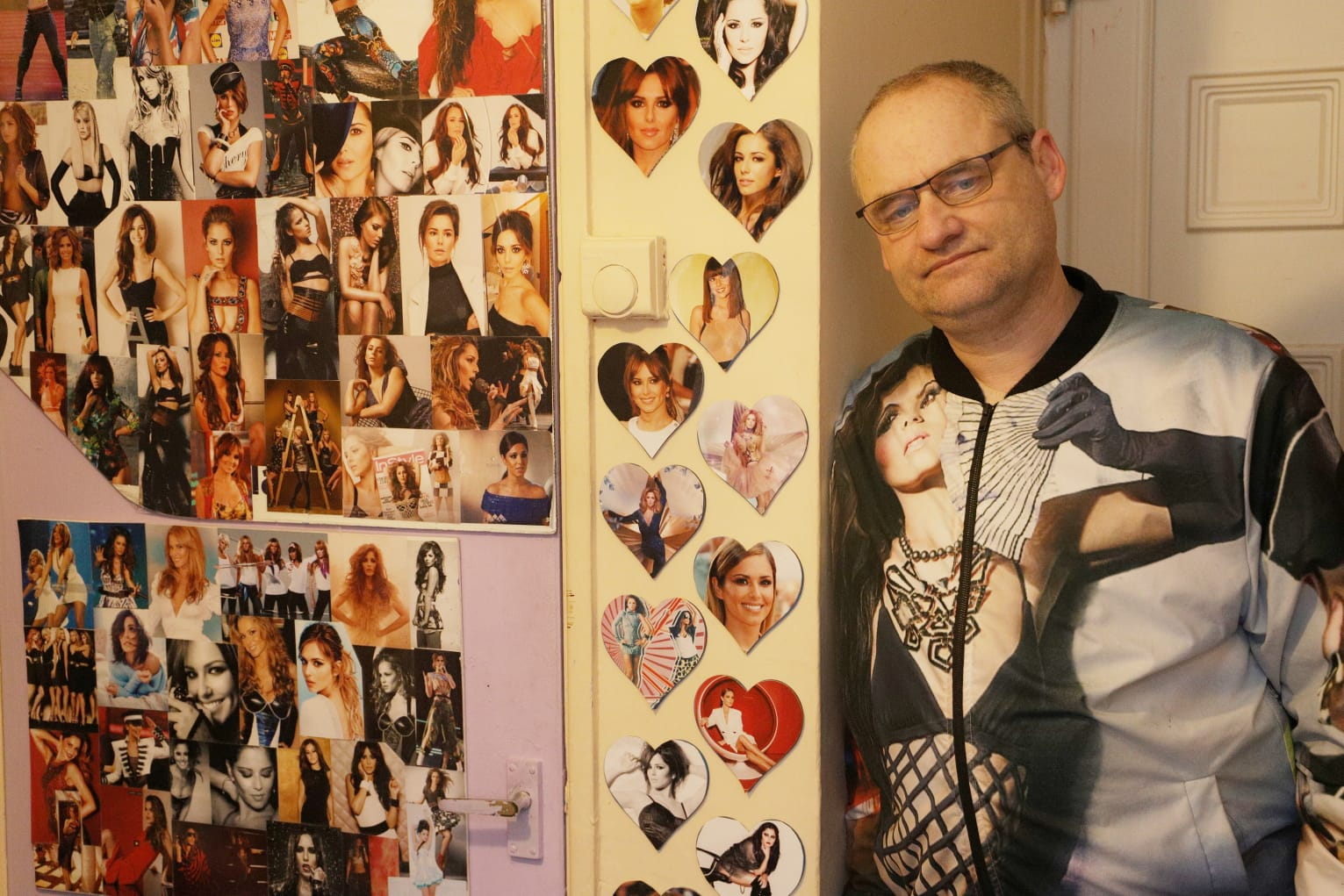 Cheryl superfan Shaun. Credit: BPM Media