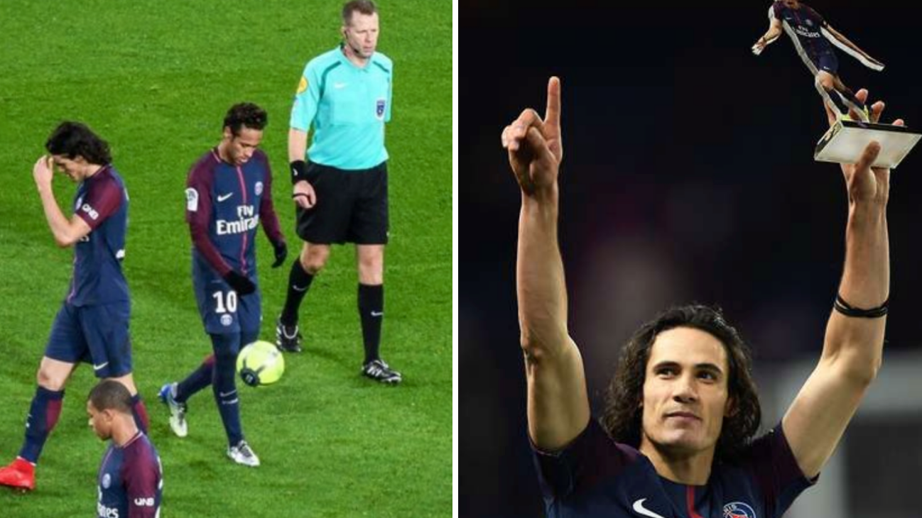 Neymar Reveals Why He Didnt Let Edinson Cavani Take Penalty Vs