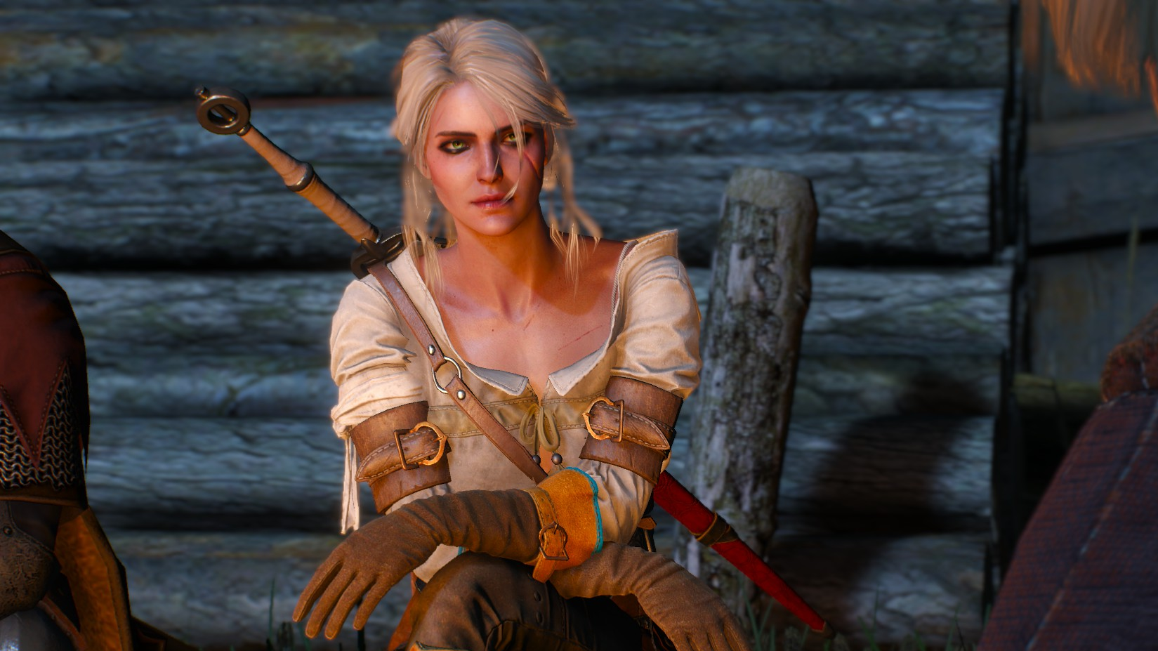 The Witcher's Ciri Could Have Visited Cyberpunk 2077's World