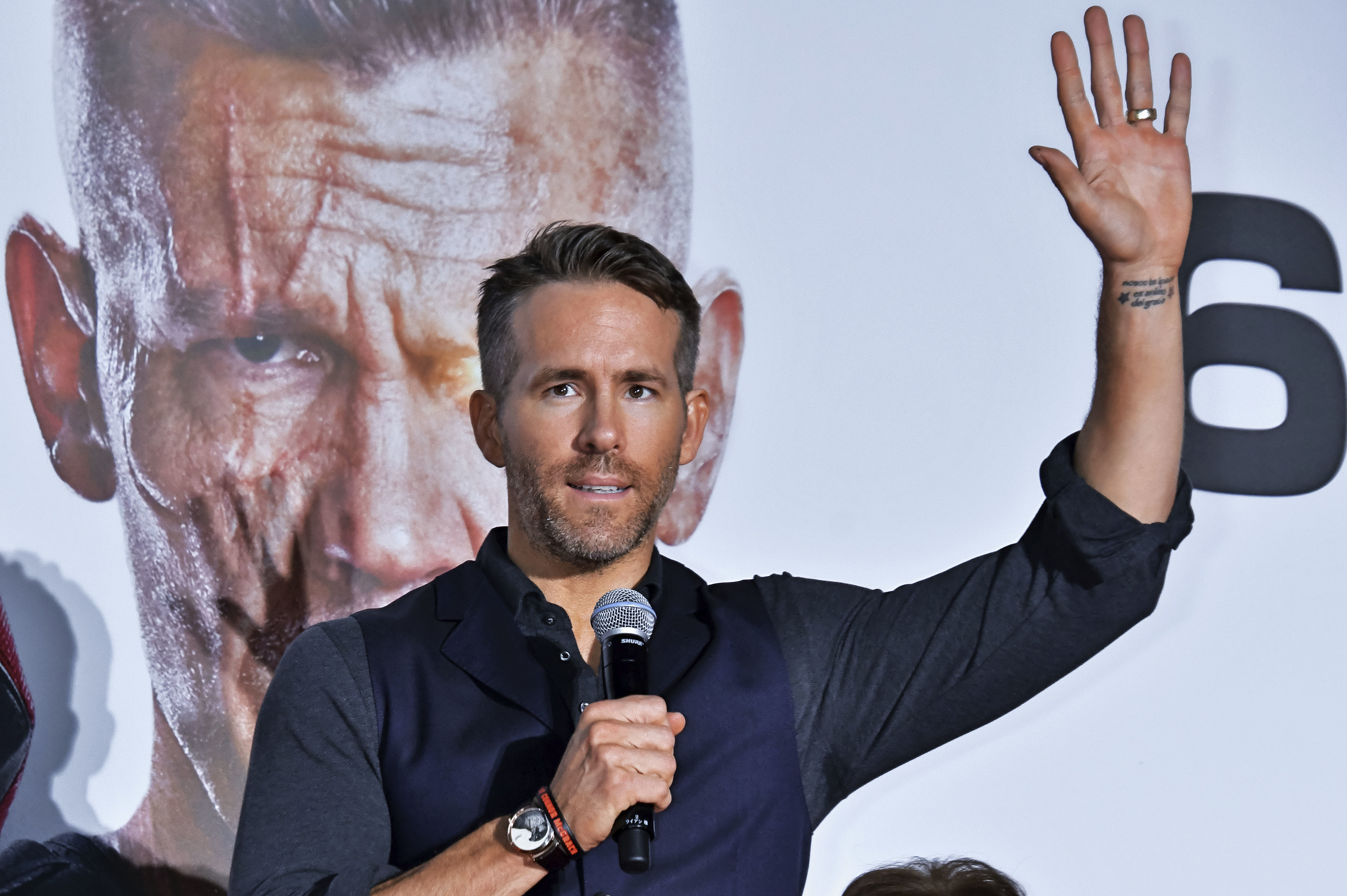 Ryan Reynolds goes after Hugh Jackman in mock political ad