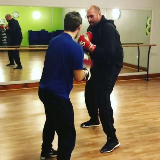Tyson Fury Has Already Lost Almost Four Stone Ahead Of